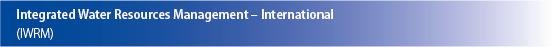 Banner (klein) IWRM