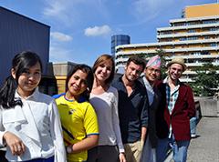 EPOS scholarship holders 2014