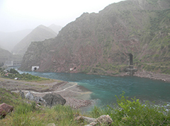 hydropower station and the triggers water tunnels_news
