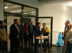 Trinh Quoc Viet after his PhD defense